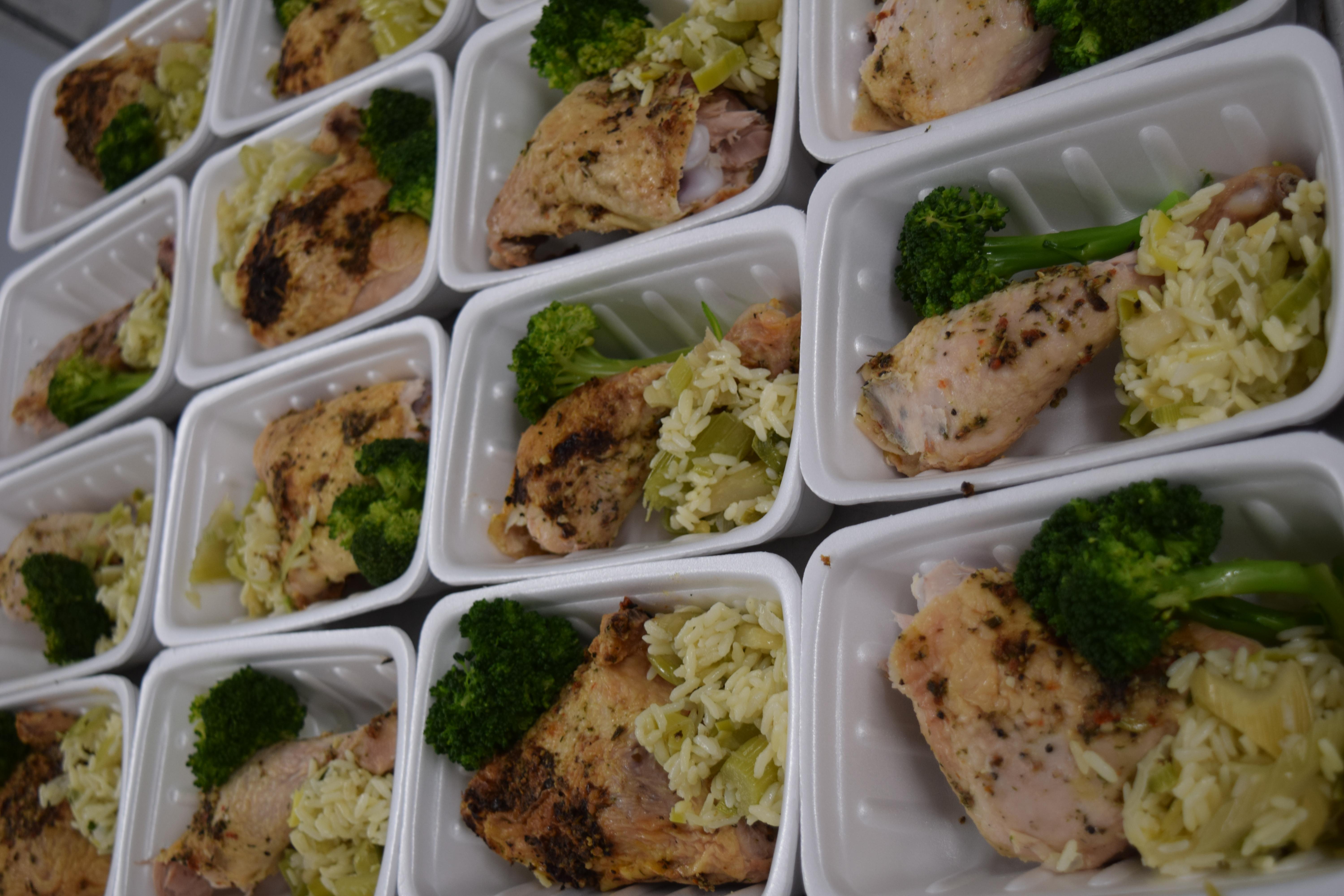 Boîtes à lunch livrées